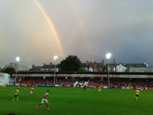 Rainbows over Richer